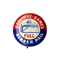 Coolidge-Dawes, Full Dinner Pail Button