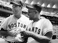 Ted Williams and Willie Mays