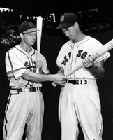 Stan Musial and Ted Williams