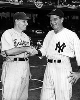 Leo Durocher and Buckey Harris