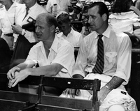 Bill Veeck and Hank Greenberg
