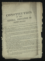Constitution of the General Association of Eastern Arkansas