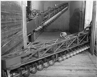 Photo of industrial augers No year. Could be 1960s