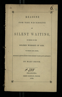 Reasons for the Necessity of Silent Waiting