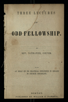 Three Lectures on Odd Fellowship