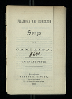 Fillmore and Donelson, Songs for the Campaign