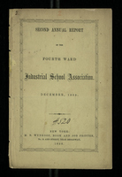 Second Annual Report of the Fourth Ward Industrial School Association, December 1855