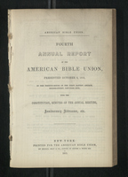 Fourth Annual Report of the American Bible Union