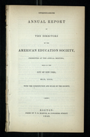 Twenty-Sixth Annual Report of the Directors of the American Education Society
