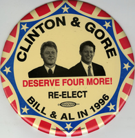 Clinton and Gore Deserve Four More