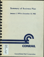 Conrail Summary Business Plan January 1, 1978 to December 31, 1982