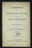 An Address on the Philosophy of Time