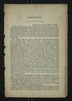 Circular [to the constituents of John Reynolds]