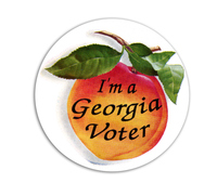 I'm a Georgia Voter Sticker