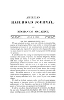 American Railroad Journal July 1, 1841