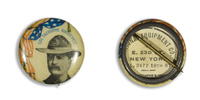 Col. Theodore  Roosevelt Button