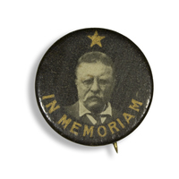 In Memoriam Theodore Roosevelt Button