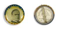McKinley Portrait Button (Small)