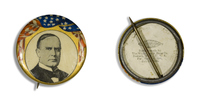 McKinley Portrait Button