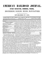 American Railroad Journal July 1, 1865