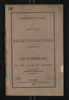 Constitution and By-Laws of Belleville Division