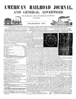 American Railroad Journal May 15, 1845