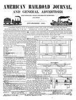 American Railroad Journal August 7, 1845