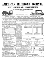 American Railroad Journal August 28, 1845