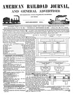 American Railroad Journal September 18, 1845
