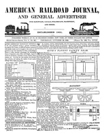 American Railroad Journal October 23, 1845