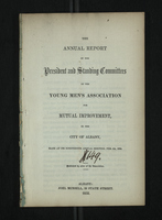 Annual Report of the President and Standing Committees of the Young Men's Association