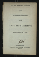 Third Annual Report of the Executive Committee of the Young Men's Institute