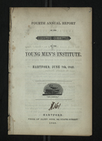 Fourth Annual Report of the Executive Committee of the Young Men's Institute