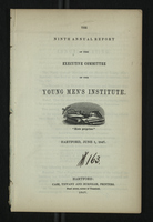 Ninth Annual Report of the Executive Committee of the Young Men's Institute