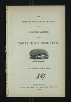 Thirteenth Annual Report of the Executive Committee of the Young Men's Institute