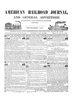 American Railroad Journal May 23, 1846