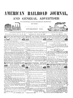 American Railroad Journal June 13, 1846