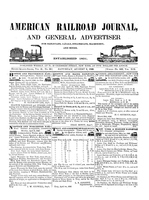 American Railroad Journal August 8, 1846