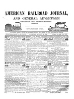 American Railroad Journal August 29, 1846