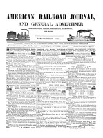 American Railroad Journal October 10, 1846