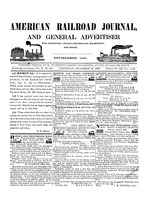 American Railroad Journal December 12, 1846