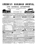 American Railroad Journal January 16, 1847