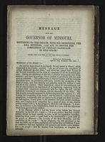 Message from the Governor of Missouri