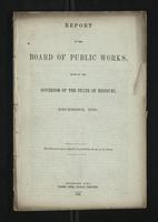 Report of the Board of Public Works