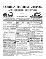 American Railroad Journal May 1, 1847
