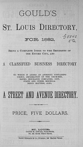 Gould's St. Louis Directory, for 1882