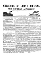 American Railroad Journal June 26, 1847
