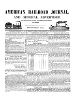 American Railroad Journal July 10, 1847
