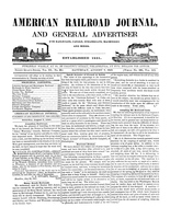 American Railroad Journal August 7, 1847