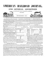 American Railroad Journal August 28, 1847